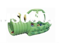 Alligator inflatable Ball Pit