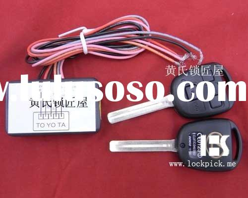 Auto key for Lexus 3 Buttons Rolling Code Dual Remote Control Module