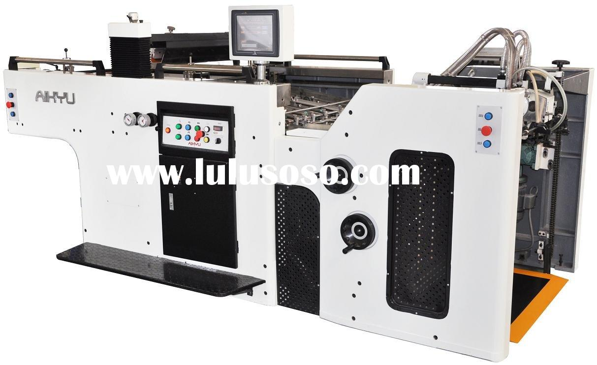 Automatic Stop Cylinder Silk Screen Printing Machine