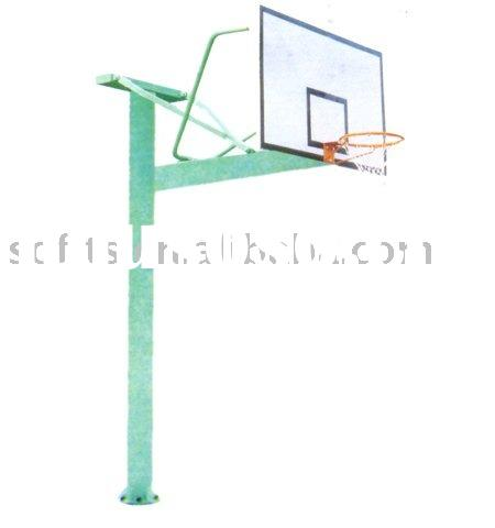 "Basketball In Ground Basketball System Basketball Stand with 60"" Backboard Basketball Hoop"