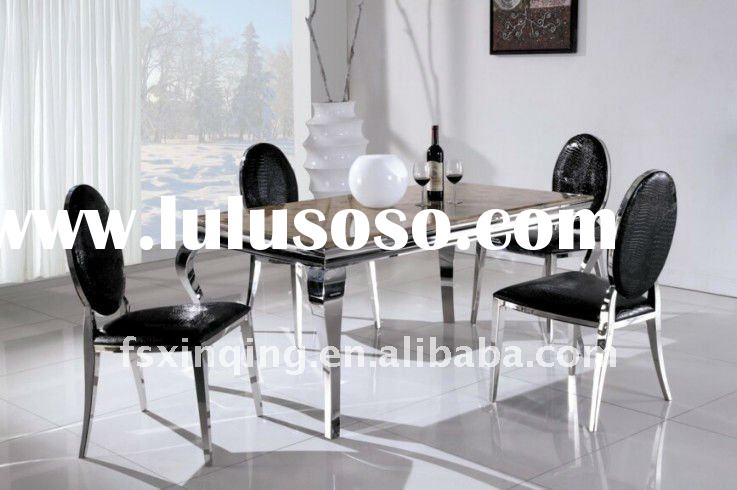 Brand new design modern marble dining table sets TH306