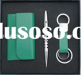 Business card holder.metal pen.key ring--SK-97