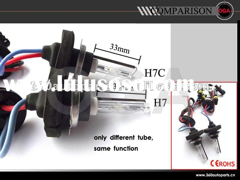 Car accessories HID Xenon headlamp bulbs H7,H7C 3000k,4300k,6000k,8000k,12000k...30000k
