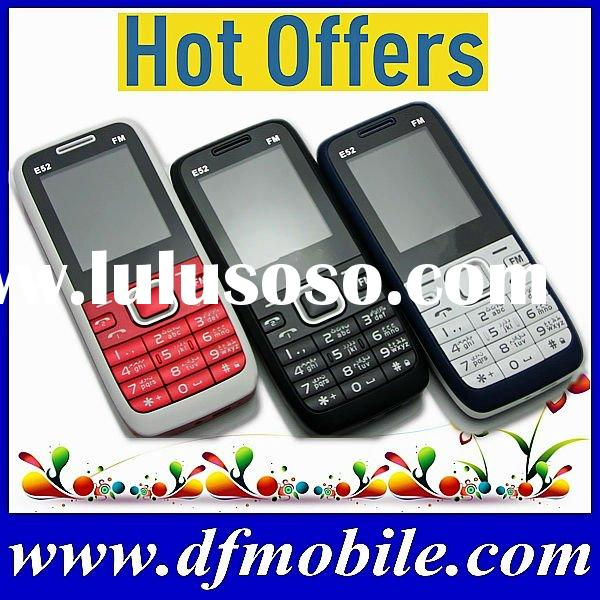 Cheapest Unlocked GSM Dual SIM Quad Band Yxtel Mobile Phone E52