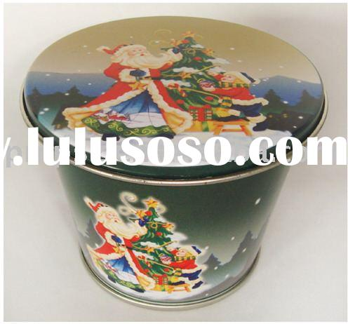 Gift tin pail gift tin pail manufacturers in for Christmas tin pails