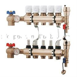 Copper manifold & Electric floor heating system