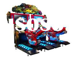 Dogfight Moto-Simulator racing coin operated game machine