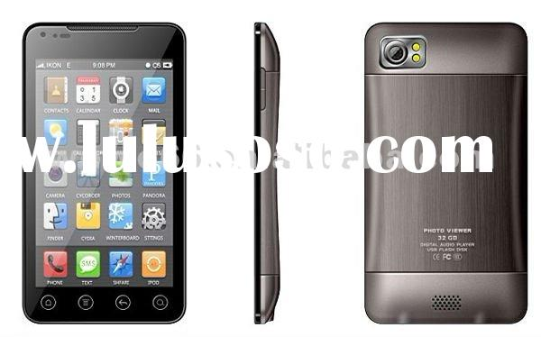 Dual sim quadband,5.0 inch Android cellphone, touch screen mobile phone,Wi-Fi,shaking funtion,GPS