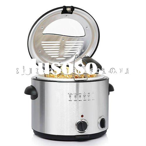 Electrical deep fryer for home use (XJ-3K043FO)