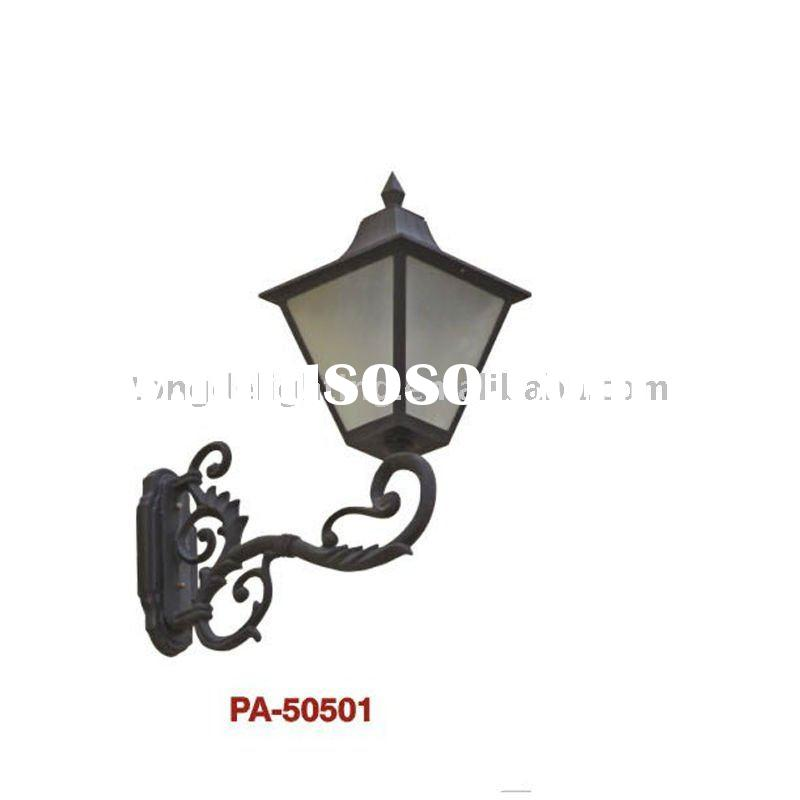 Elegant outdoor aluminium wall light with high quality