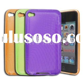 Ellipse Pattern TPU Gel Case Cover for iPod Touch 4 4G