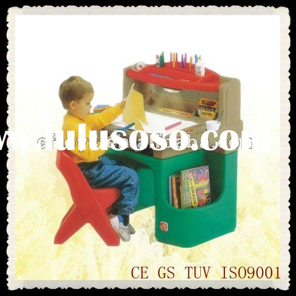 Ergonomic kids plastic table and chair set,study furniture,school furniture for kids