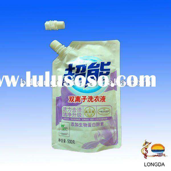 Factory supplied plastic washing powder packaging bag