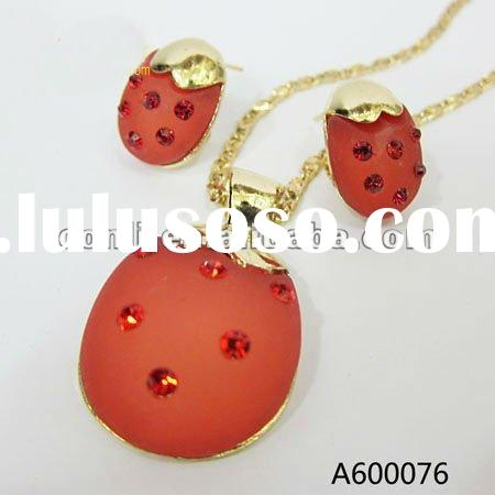 Fashion african jewelry sets A600076-1 gold plated jewelry set