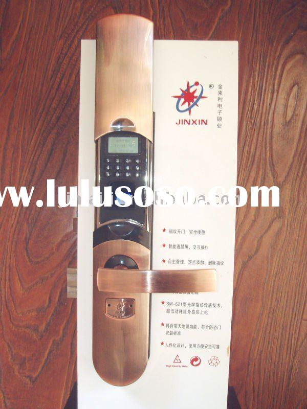 Fingerprint lock door lock for house office or hotel