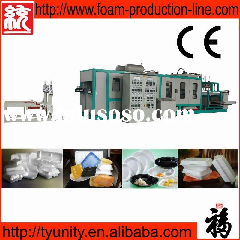 Fully Automatic Plastic Vacuum Forming Machine (TY-1040)