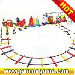 Funny cartoon animal train Mini Train park rides