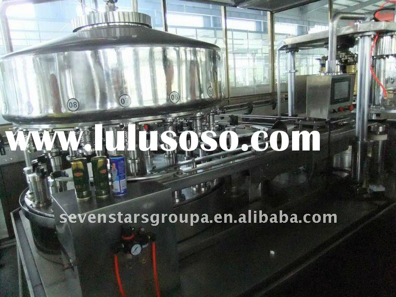 GF24-6 canning machine for juice filling and sealing machine