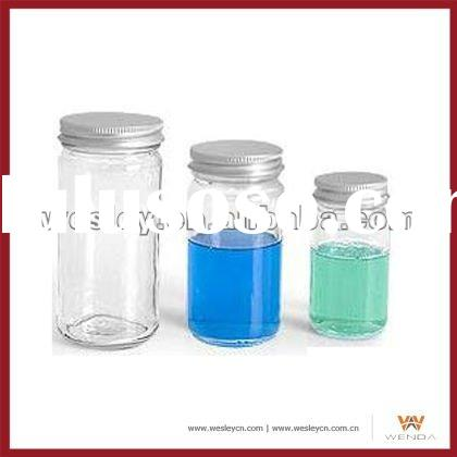 Glass jars and lids