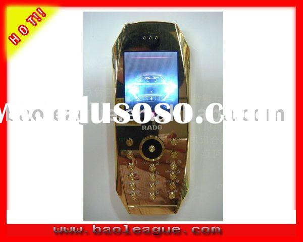 Golden Mobile Phone Dual SIM Luxury Mobile Phone GSM Car Mobile Phone K003