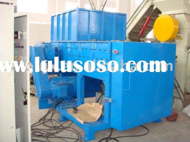 HOT plastic single shaft shredder