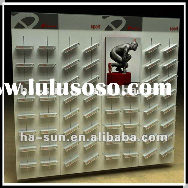 Gallery for shoe display racks for Sneaker wall display