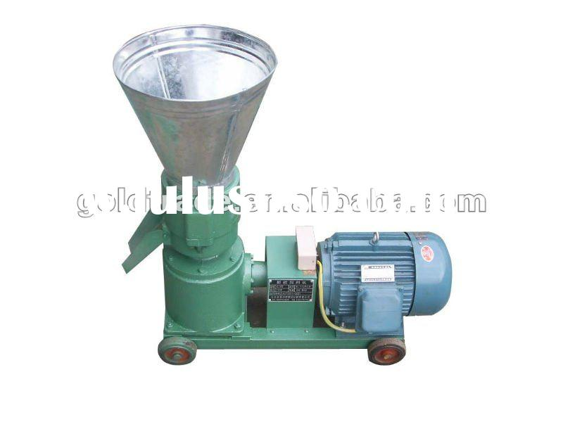 High Quality Flat Die Small Wood Pellet Press with CE Certificate