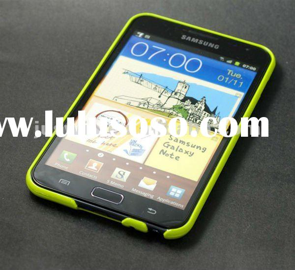 High quality factory price Hard Plastic Cover Bumper Case For Samsung Galaxy Note GT-N7000 i9220 acc