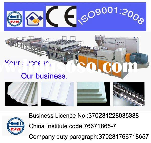 Hot-New PVC wood crust foam board production line