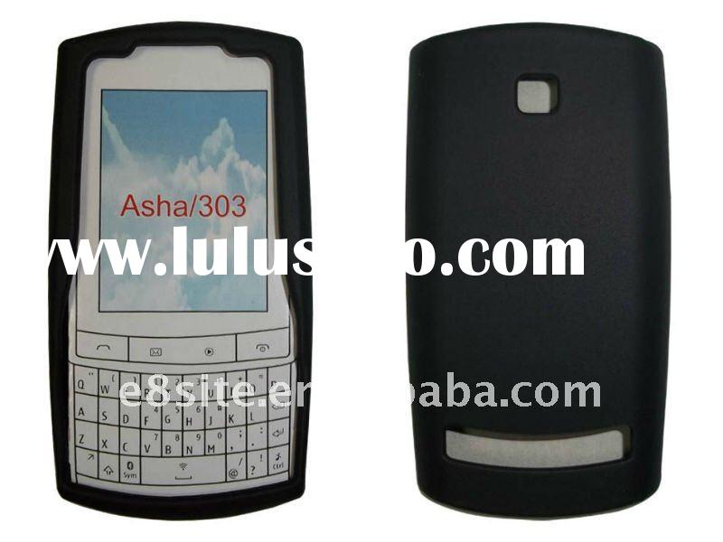 Hot Sale Cell Phone Silicon Skin Case for Nokia Asha 303