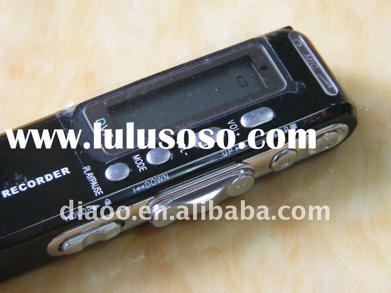 Hot sell digital voice recorder 4GB/Professional voice recorder with MP3