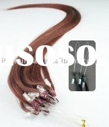 Indian Remy Micro Hair Weft - Ring Hair extension /Easy Loop Hair