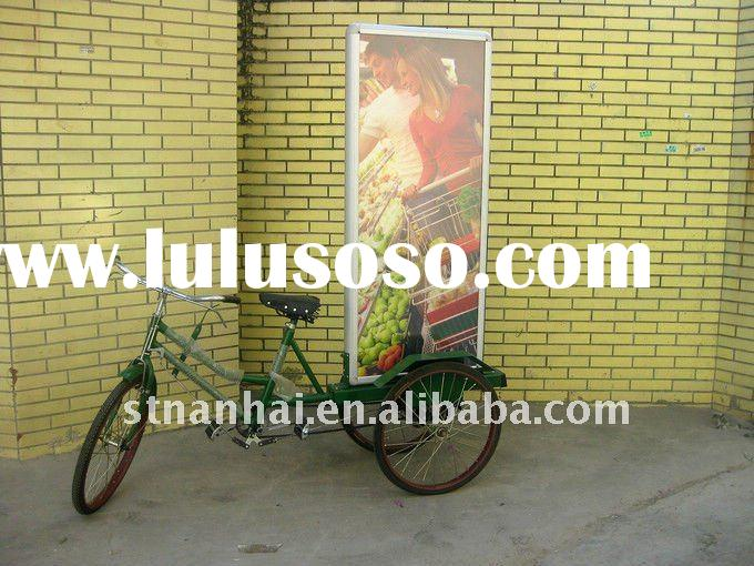 J3-084 Tricycle LED outdoor advertising light boxes