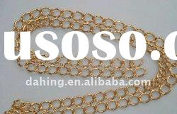 Jewelry Brass Chain for necklace ,gold plated brass chain