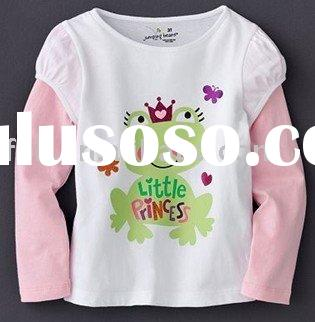 Jumpings beans long sleeve T-shirt,kids T-shirt,children T-shirt,toddler T-shirt for 18M 24M 3T 4T 5