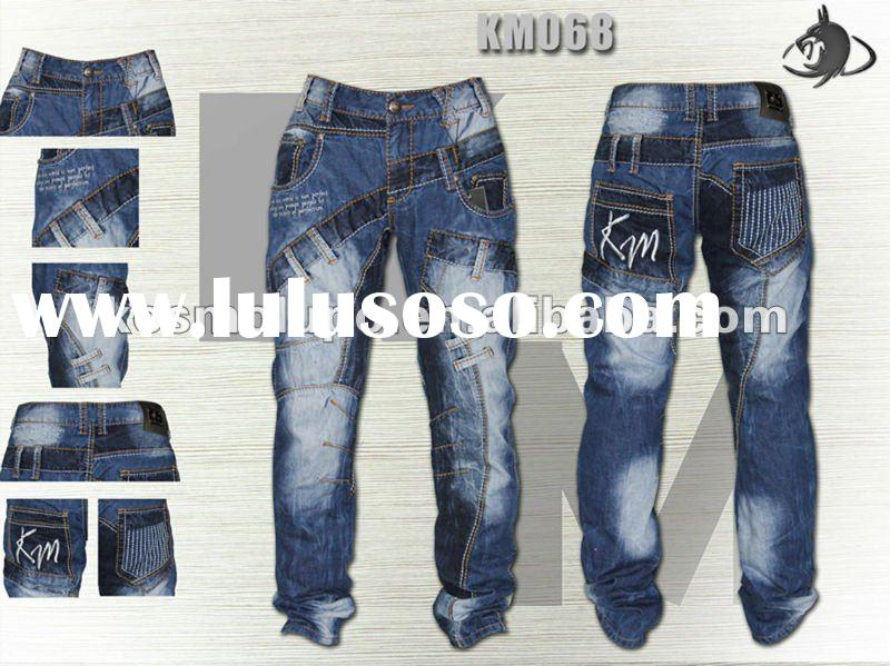 Kosmo Lupo 2012 Latest Fashion 100% Cotton Jeans Fabric