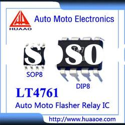 LT4761 Auto Moto Parts Flasher relay Indicator U643B IC ASIC Integrate Circuit