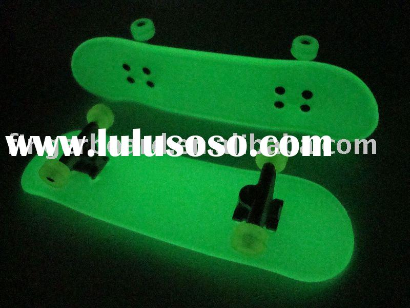Luminous finger skateboards, mini skateboards