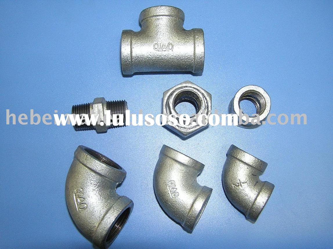 Malleable iron pipe fittings,GI pipe fittings