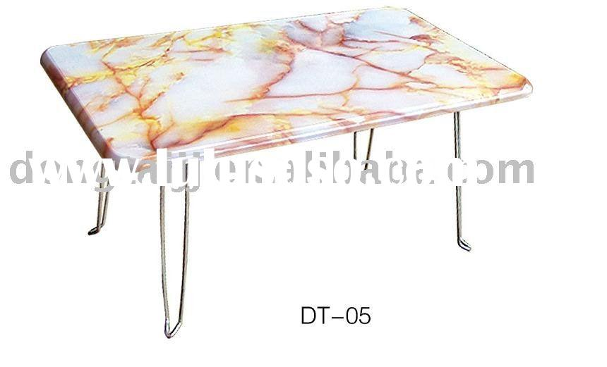 Marble Top Folding Study Coffee Table DT-005
