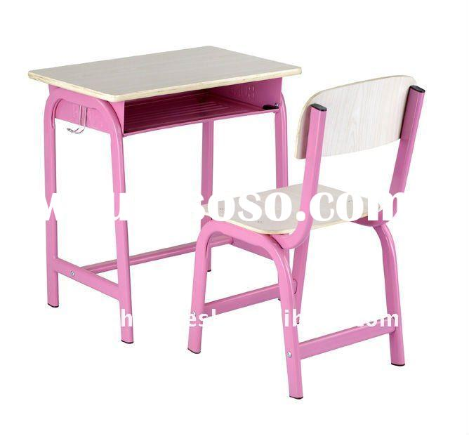 Modern student desk and chair/school furniture