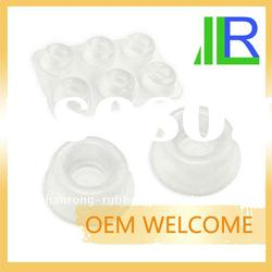 Molded Clear Silicone Rubber Feet