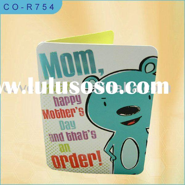 Mother's Day Card/Recording Greeting Card