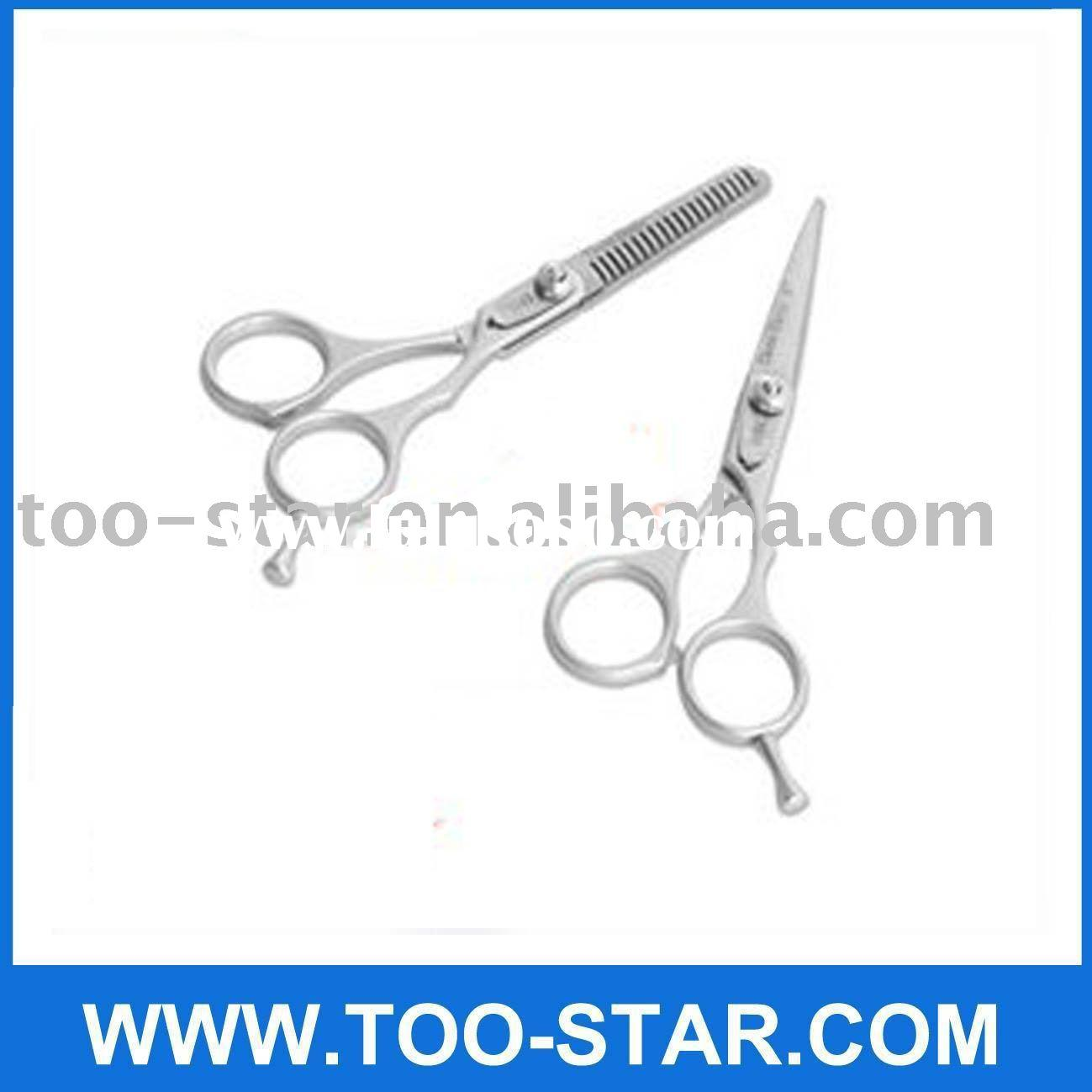 New 2 in 1 Hairdressing Hair Cutting Thinning Scissors Shears Set