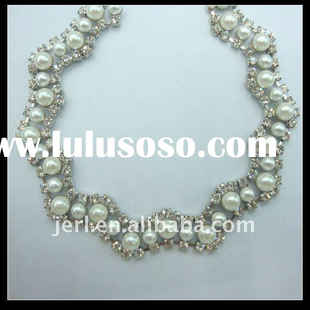 New Design Pearl Trimming Chains for Clothes Accessories