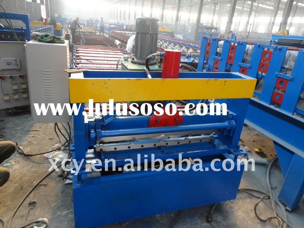 New style 900 automatic roof panel roll forming machine