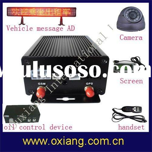 Newest Mulfunctional Vehicle GPS Tracker support Fuel Sensor&GPS Navigation& Handset & C