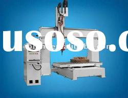 Omni 5 axis cnc router for wood/model/foam shaping