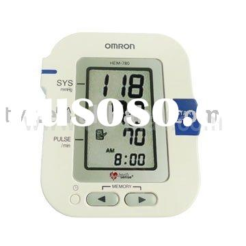 "Omron HEM-780 Automatic Blood Pressure Monitor with ComFit Cuff (4 ""AA"" batteries)"