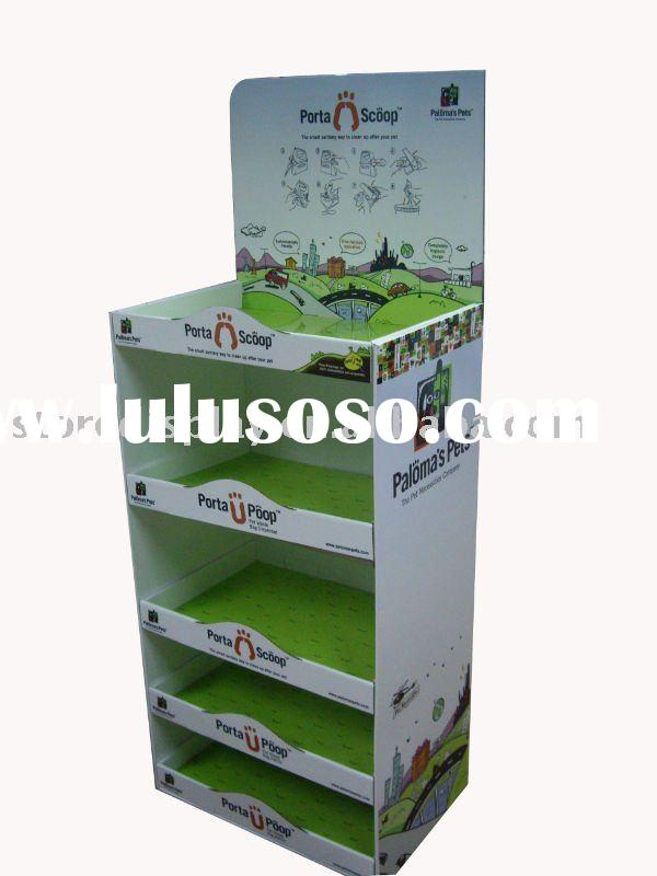 POS displays,Display stands, cardboard displays,cardboard floor stands,pop display stand, LED light